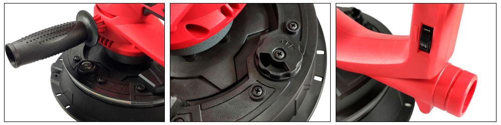 ASTECH HR-5 шлифовальная машина ручная 225 мм с LED подсветкой купить, цена, фото, отзывы, технические характеристики | ХОППЕР-КОВШ.РФ - Волоколамское шоссе, 103, 8 800 707 02 82
