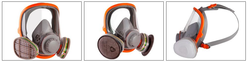 Jeta Safety JS5950 полнолицевая защитная маска с двойным фильтром купить, цена, фото, отзывы, технические характеристики | ХОППЕР-КОВШ.РФ - Волоколамское шоссе, 103, 8 800 707 02 82