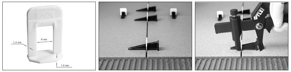 Зажим 1,4 мм для системы выравнивания плитки 100 шт. TLS PROFI купить, цена, фото, отзывы, технические характеристики | ХОППЕР-КОВШ.РФ - Волоколамское шоссе, 103, 8 800 707 02 82