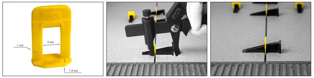 Зажим 1 мм для системы выравнивания плитки 100 шт. TLS PROFI купить, цена, фото, отзывы, технические характеристики | ХОППЕР-КОВШ.РФ - Волоколамское шоссе, 103, 8 800 707 02 82