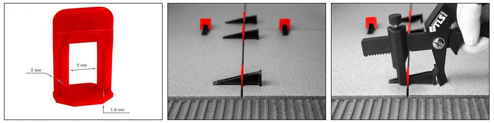 Зажим 1,4 мм для системы выравнивания плитки 500 шт. TLS PROFI купить, цена, фото, отзывы, технические характеристики | ХОППЕР-КОВШ.РФ - Волоколамское шоссе, 103, 8 800 707 02 82