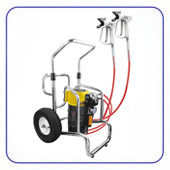 Мембранные окрасочные агрегаты высокого давления