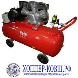 Компрессор Moller AC 650/200 380В . Трехфазный компрессор для хоппер-ковша. Идеальное соотношение мощности и цены!