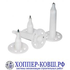 Дюбель-гвозди для монтажа теплоизоляции тип IN шляпка 51 мм упаковка 1000 шт.