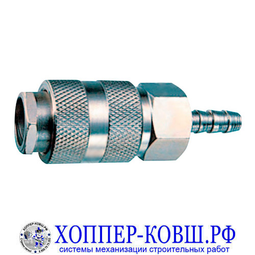 Фитинг быстросъемный елочка 8 мм - ЕВРО - RAPID МАМА