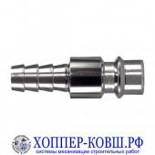 Фитинг быстросъемный елочка 6 мм - ЕВРО - RAPID ПАПА