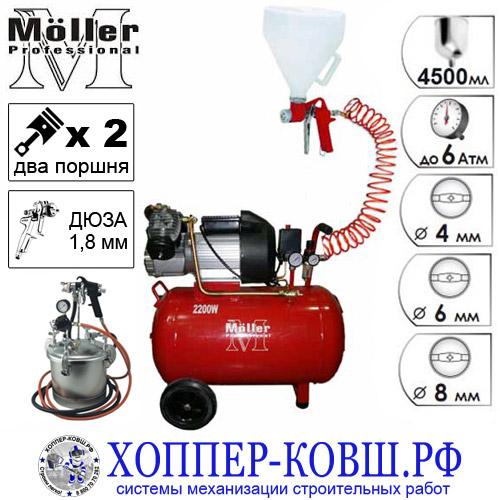 """Комплект """"Профи RKS-01"""" для нанесения декоративных покрытий и жидких красок"""