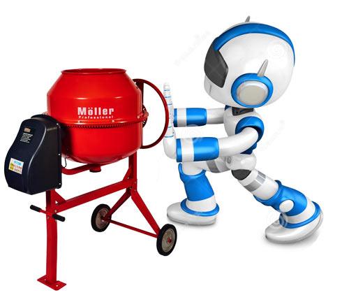 Растворосмесители и бетономешалки Moller купить в москве в официальном фирменном магазине Моллер - ХОППЕР-КОВШ.РФ